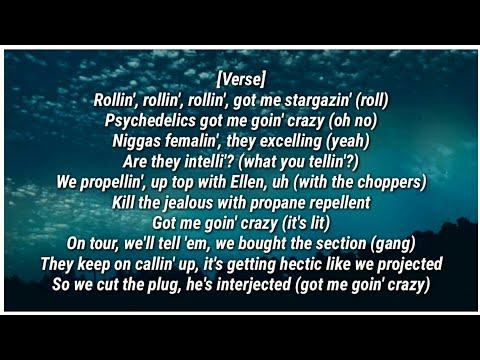 Travis Scott - STARGAZING (Lyrics)