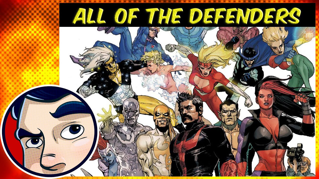 Download Who Are the DEFENDERS & All of the DEFENDERS Groups! - Know Your Universe   Comicstorian