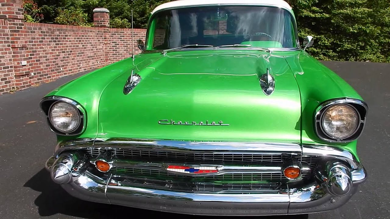 1957 Chevy Wagon 150 Pro Tour for sale Old Town Automobile in ...