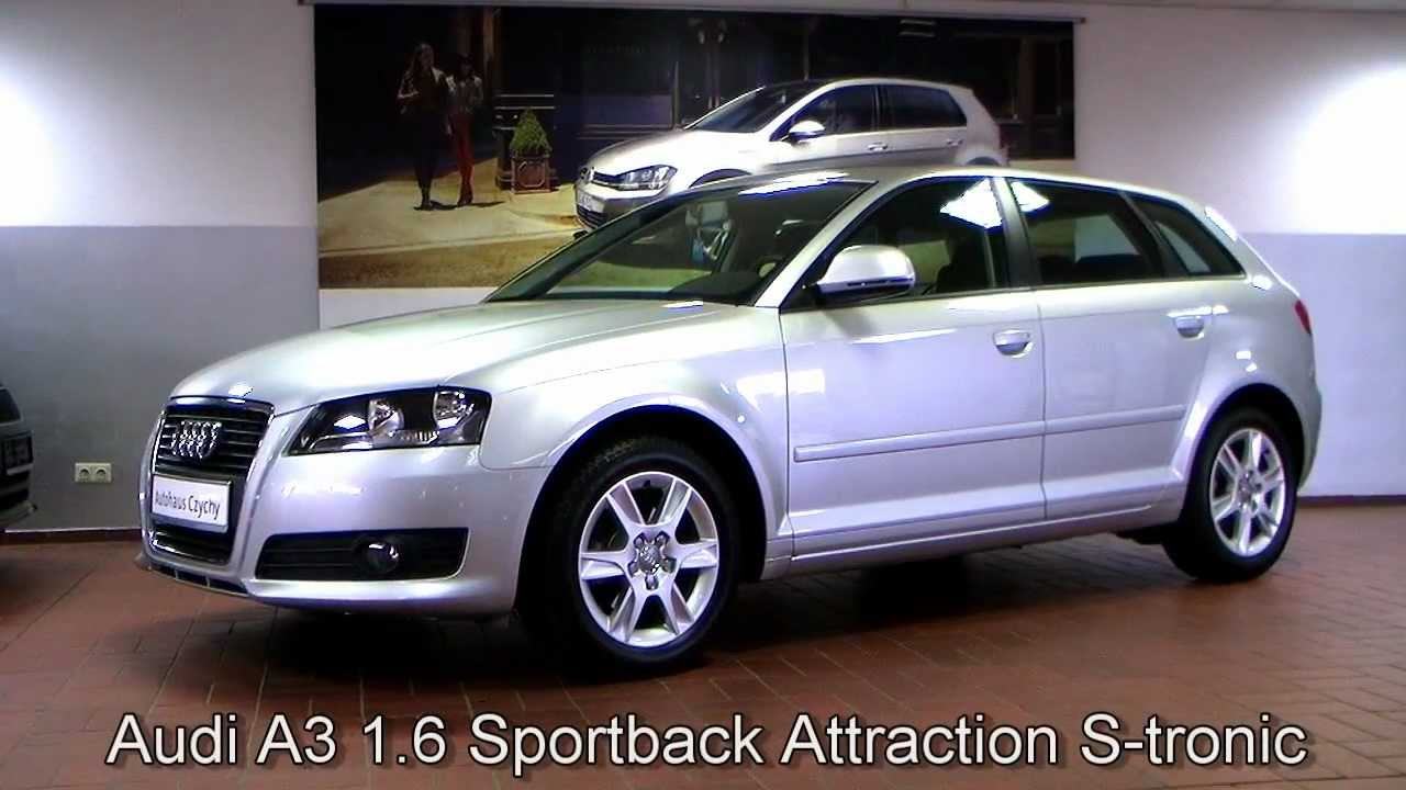 audi a3 sportback 1 6 attraction s tronic aa097165. Black Bedroom Furniture Sets. Home Design Ideas