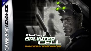 Splinter Cell 2: Pandora Tomorrow (Game Boy Advance) - Gameplay