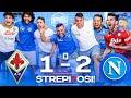 STREPI7OSI!!! FIORENTINA 1-2 NAPOLI | LIVE REACTION NAPOLETANI HD