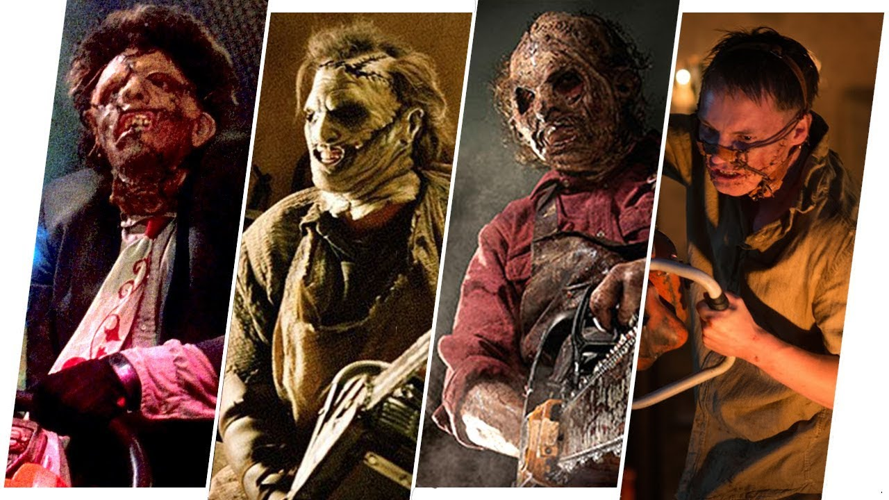 leatherface evolution in movies the texas chainsaw massacre youtube