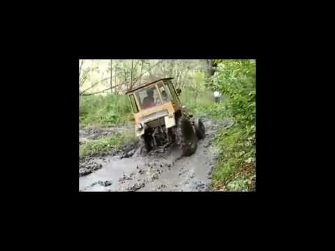 Приколы на тракторах -