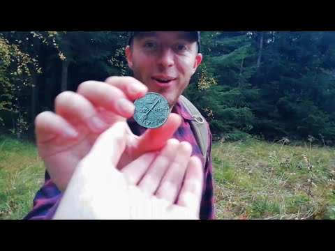 LUCKY newbie digger finds AWESOME first coin!