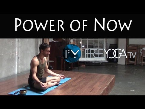 30 Days of Yoga - Day 25 | The Power of Now | Stephen Beitler Taha Yoga