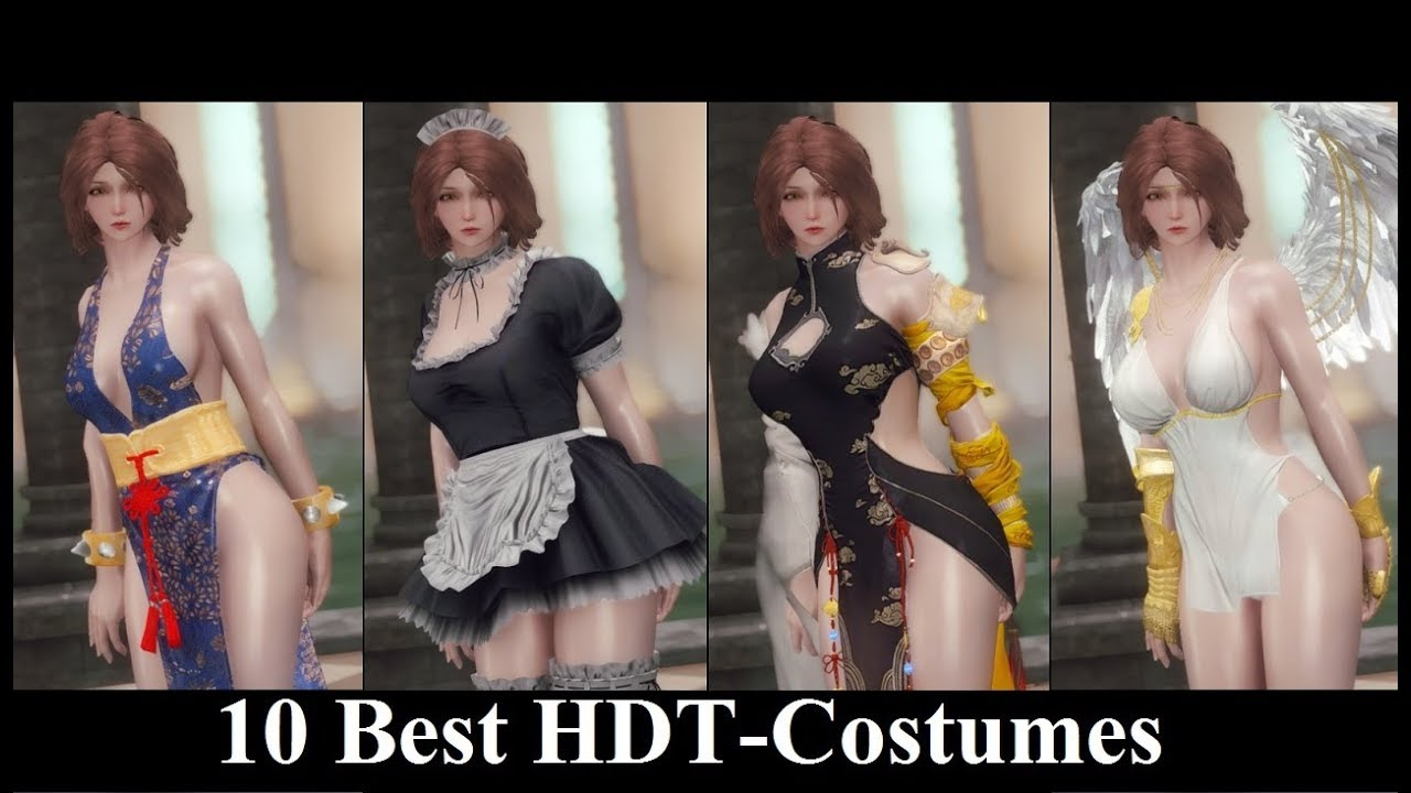 Skyrim Mods: 10 Best HDT-Costumes p3 (Female)