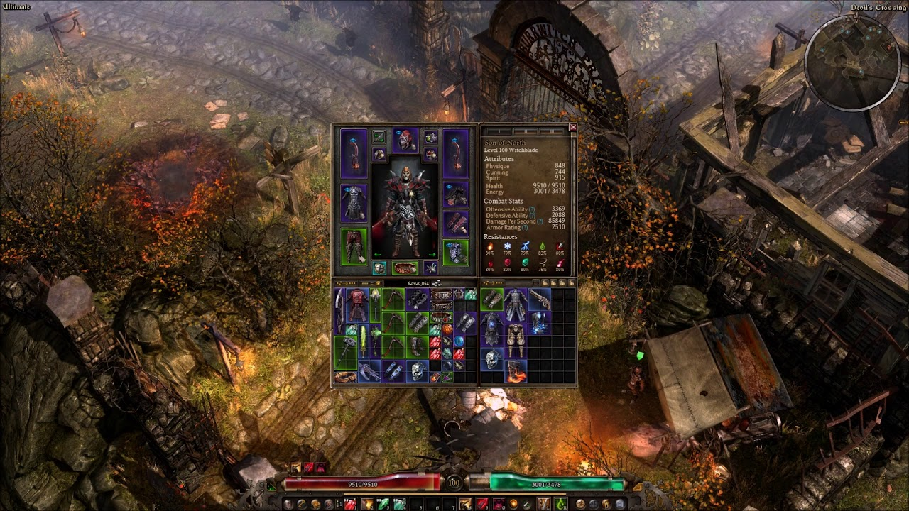 Grim Dawn Witchblade Build - Melee