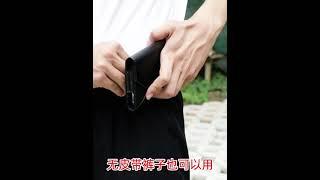 작업현장 휴대전화 케이스 명품힙색 중년 클러치백