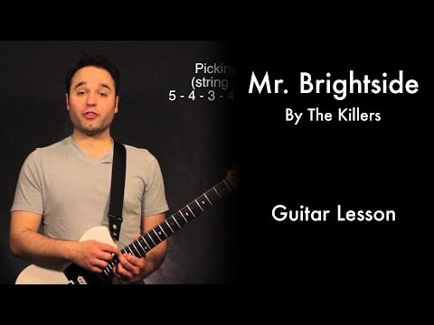 Mr. Brightside by The Killers Tutorial