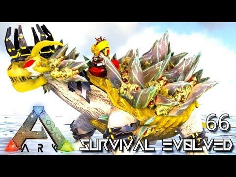 ARK: SURVIVAL EVOLVED - TEK DINO GODS EMPEROR FOREWORLD MYTH !!! E66 (MODDED ARK EXTINCTION CORE)