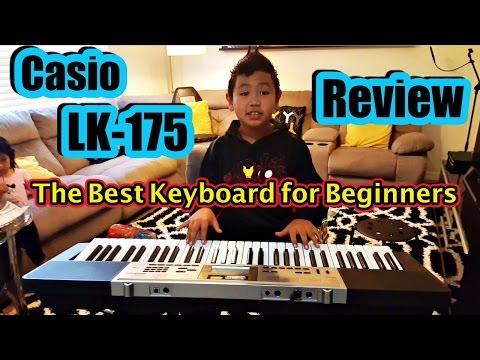 🎵 CASIO LK-175 KEY LIGHTING KEYBOARD: Great Piano Keyboard for Beginners 🎶