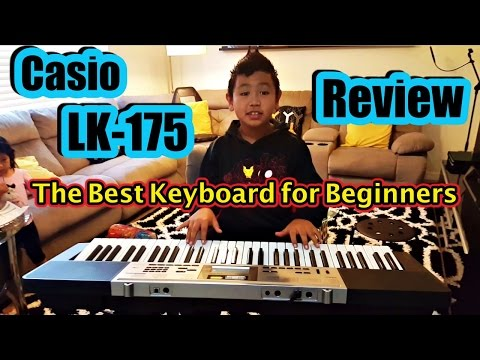 🎵 CASIO LK-175 KEY LIGHTING KEYBOARD: Great Piano Keyboard for Beginners 🎶