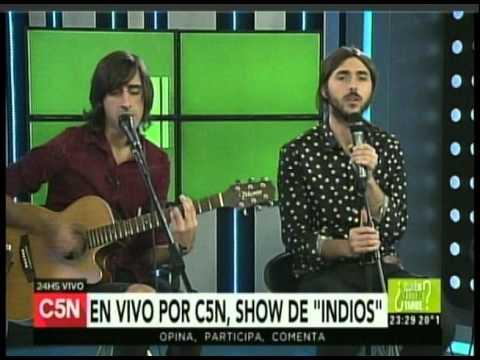 C5N -  MUSICA EN VIVO: PRESENTACION DE INDIOS (PARTE 3)