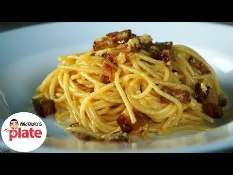 HOW TO MAKE SPAGHETTI CARBONARA | The Authentic Carbonara Recipe | Italian Food Recipes