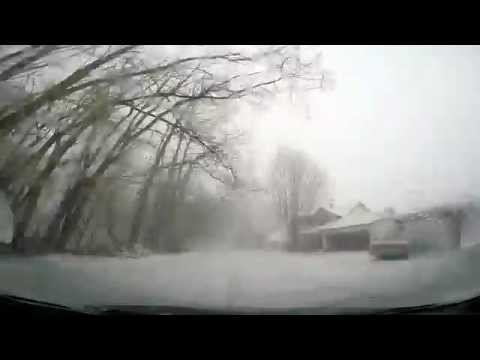 Watch as a Winter Storm rolls in on Erie, PA