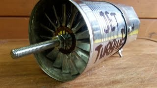 Home made Jet engine - Come Realizzare una Turbina Jet- part 2