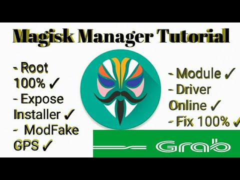 How To Install Magisk Manager to Hidden Root Cara Pasang Magisk Manager Via  TWRP