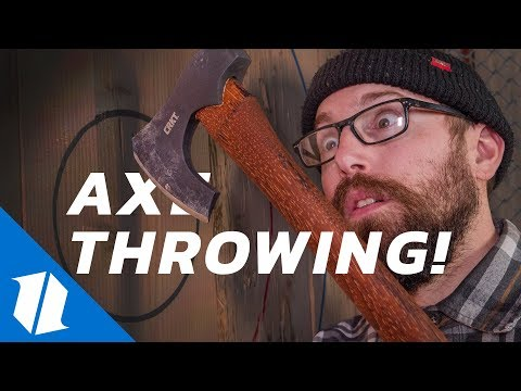 Axe Throwing: Our New Favorite Sport! | Knife Banter Ep. 43
