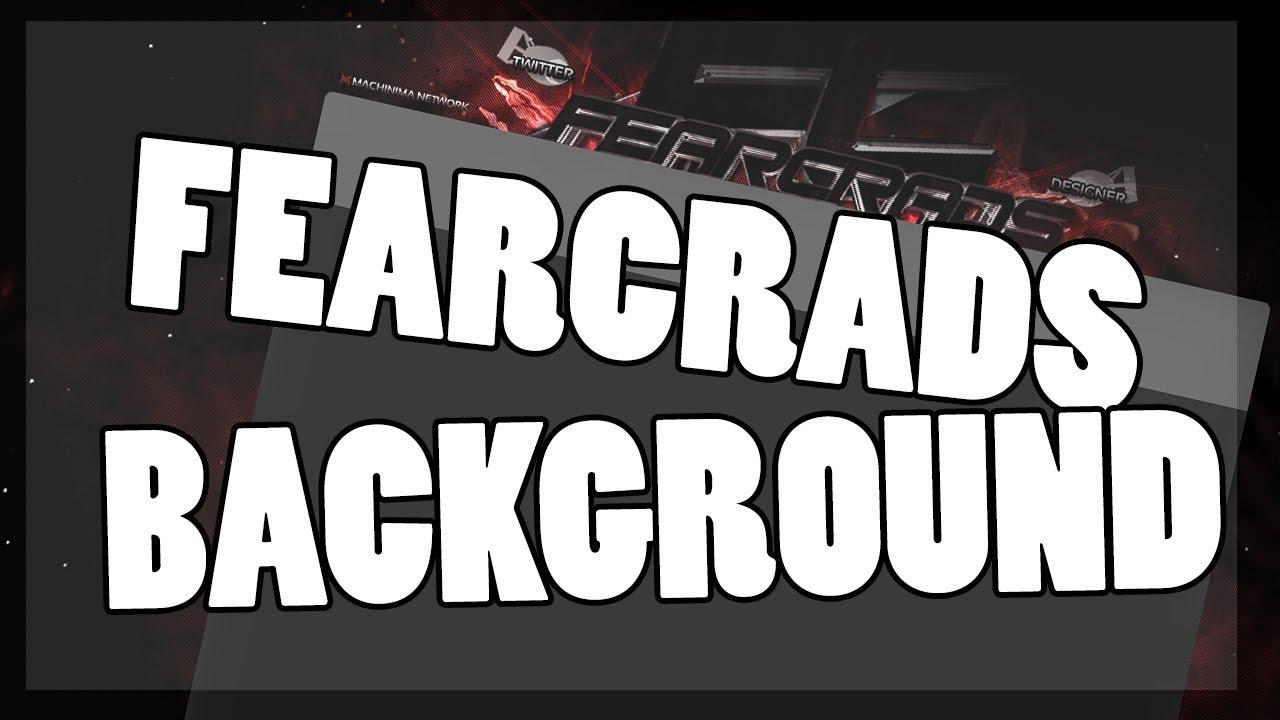 FearCrads Background Speedart -Ninja