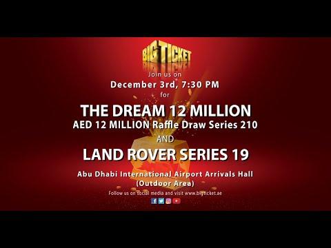 Live -The Dream 12 Million Series 210 Draw