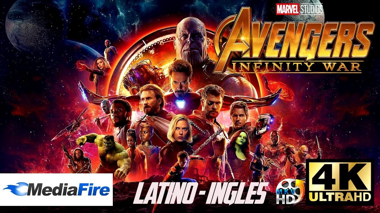 Avengers: Infinity War (2018) Pelicula completa Latino HD1080P