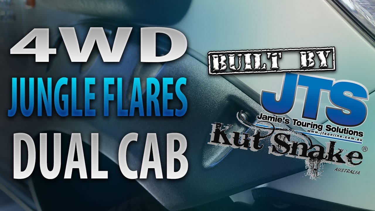 maxresdefault kut snake flares nissan navara dual cab jamie's touring jamie's touring solutions wiring diagrams at fashall.co