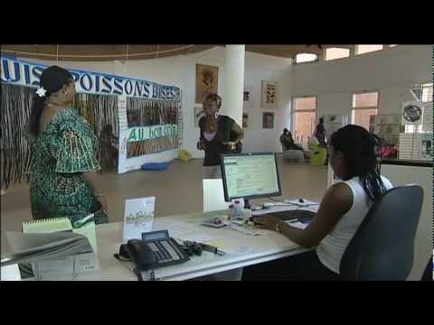 La médiathèque de l'Institut Français de Ouagadougou