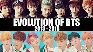 EVOLUTION OF BTS (2013 - 2018) | EACH MEMBER LIVE COMPILATION