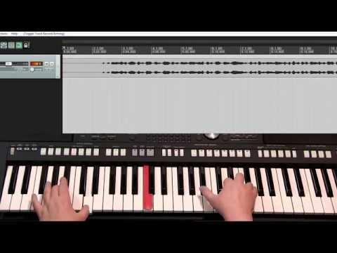 Как записать музыку с синтезатора на компьютер