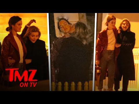 Chloe Grace Moretz Has Dinner and Makeout Session with Model Kate Harrison | TMZ TV