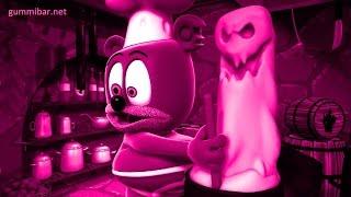 Gummibär Colors PINK Monster Mash Gummy Bear Song Halloween