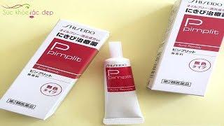 Kem Trị Mụn Trứng Cá Pimplit Shiseido Nhật Bản - Thổi Bay Mụn, Làm Đẹp Da