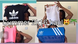 Summer Haul 2k16/Adidas,Ellesse,and more//JustDanielle