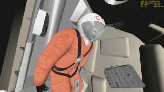 Как Ю.ГАГАРИН Полетел в КОСМОС(orbit2010 Музыка- Маяк - Выше звёзд., 2014-12-02T20:53:46.000Z)