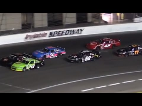 Irwindale Speedway Celebrity Race 9-27-14