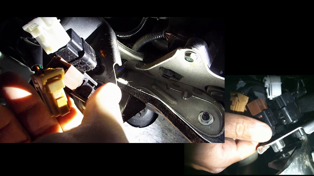 nissan brake switch and cruise control switch replacement [ 1280 x 720 Pixel ]