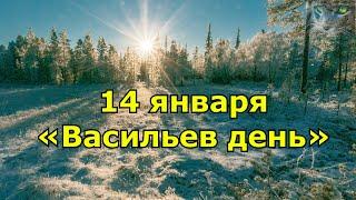 14 января. Народный праздник «Васильев день». Что нельзя и что можно.