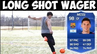 FIFA 15 TOTY MESSI LONG SHOT WAGER VS AMAN    TEAM OF THE YEAR PINK SLIPS (FUT 15)