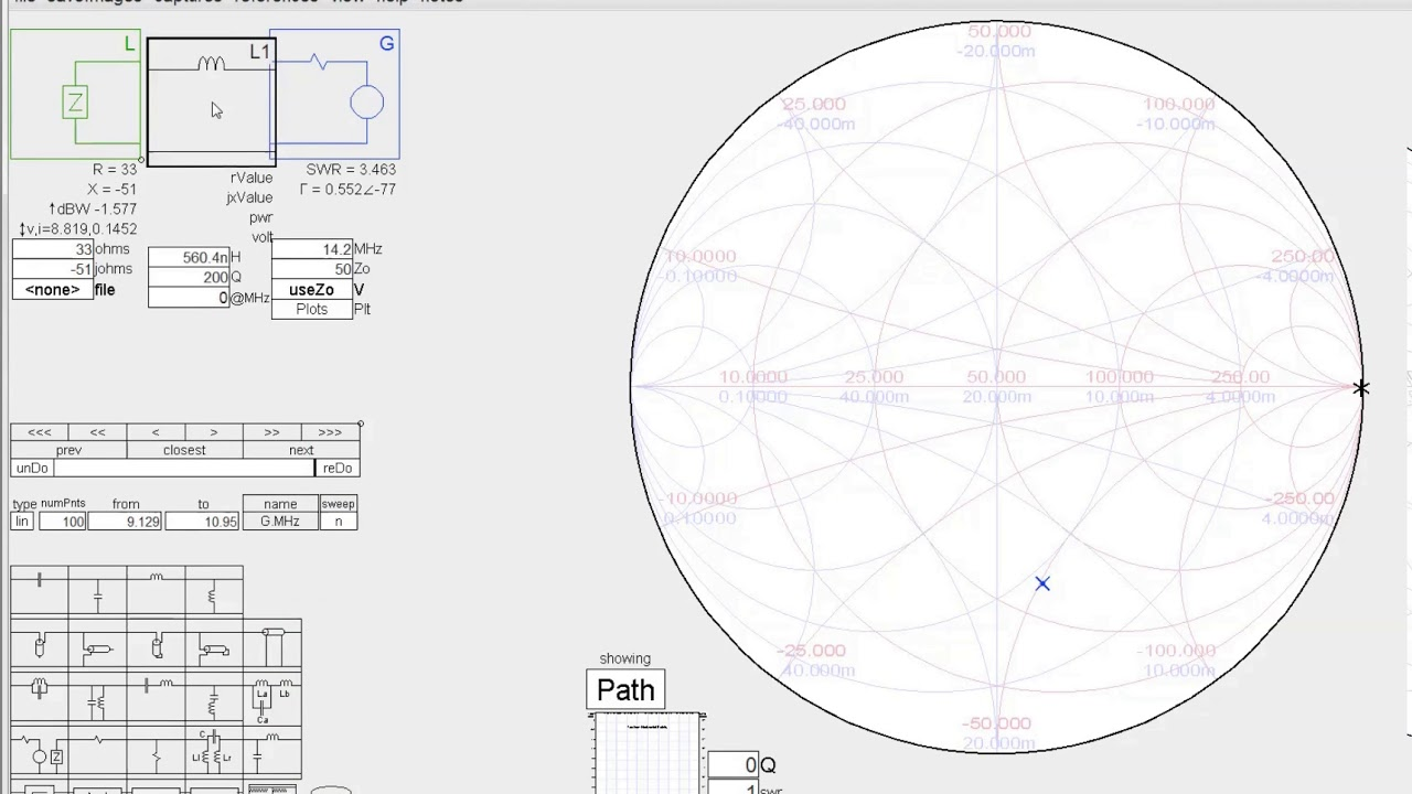 278 smith charts use simsmith to design l matching networks youtube 278 smith charts use simsmith to design l matching networks ccuart Choice Image