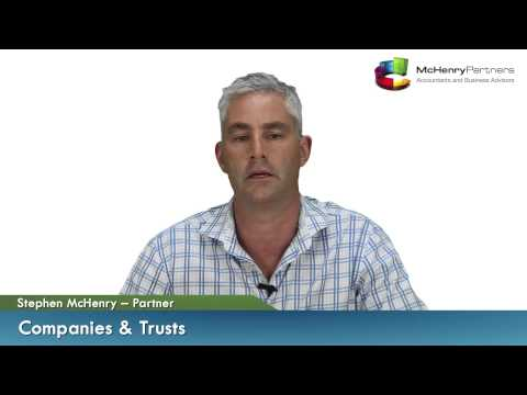 Business Structures - Companies & Trusts