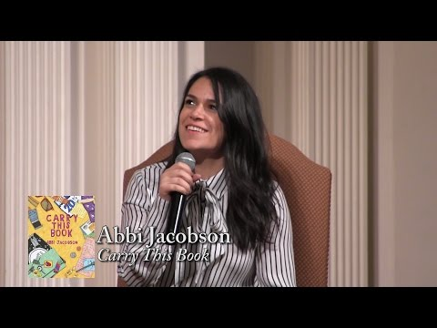 "Abbi Jacobson, ""Carry This Book"""