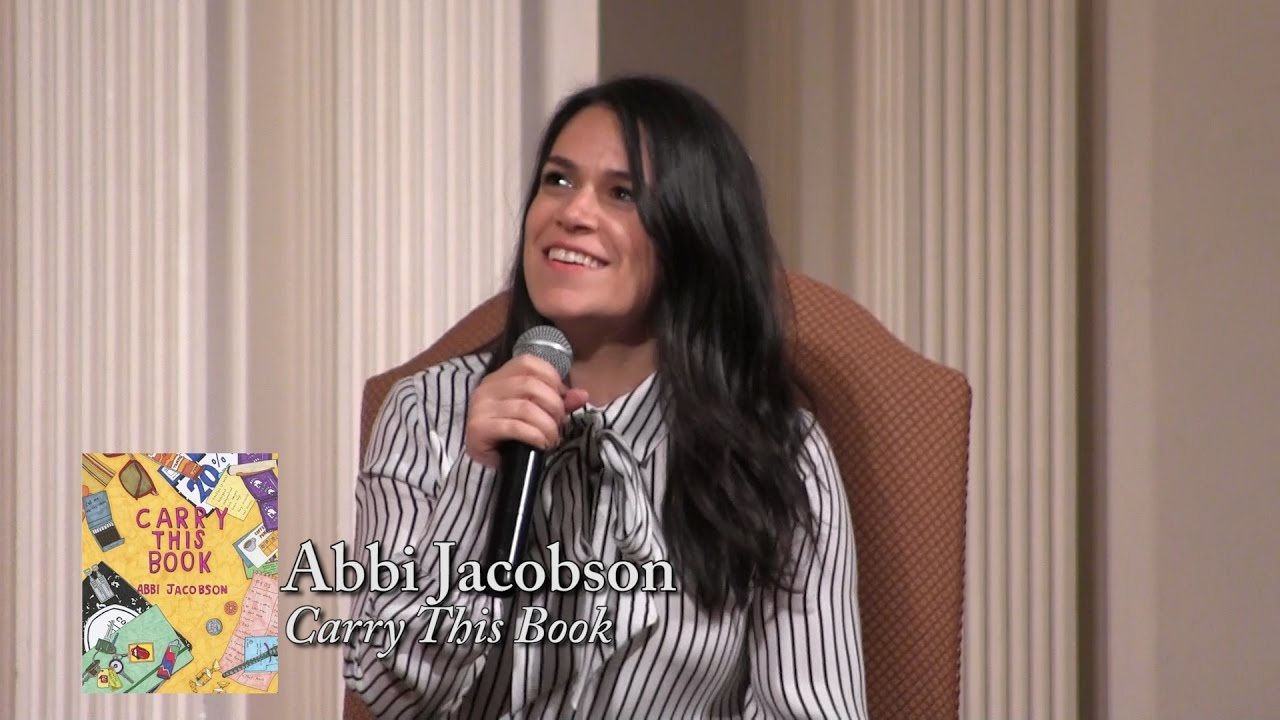 abbi jacobson carry this book youtube - Abbi Jacobson Coloring Book