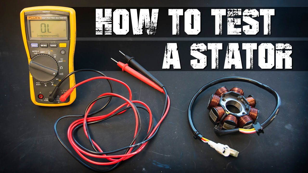 how to test a trail tech stator