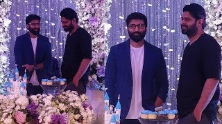 Prabhas Attends Gopichand Son Viyaan Birthday Celebrations | #Prabhas #GopiChand | Filmy Looks
