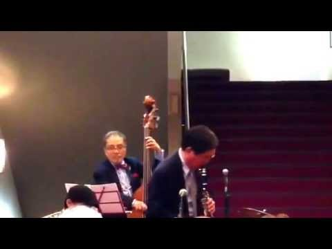Matsudaira Tsunekazu Quartet at Shinjuku Jazz Festival 2015