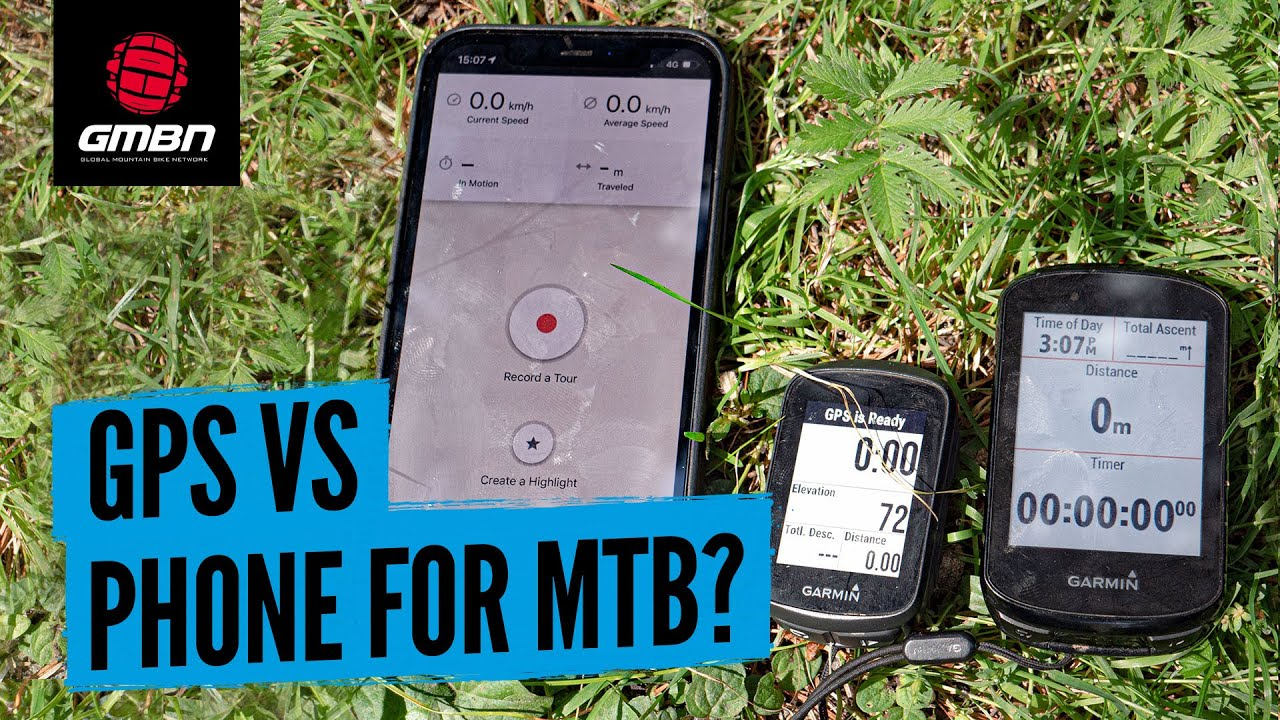GPS Unit Vs Smart Phone | Which Is Better For Mountain Biking?