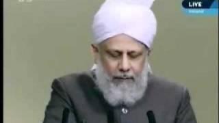 Проповедь Хазрата Мирзы Масрура Ахмада (17-09-10) часть 3