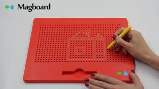 Видео обзор Магнитный планшет для рисования Magboard