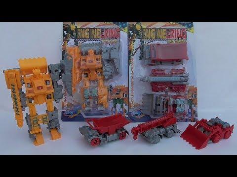 Engineering Team ของเล่นหุ่นยนต์รถก่อสร้าง